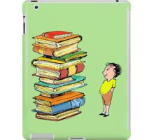 You Can Never Have Too Many Books iPad Case/Skin