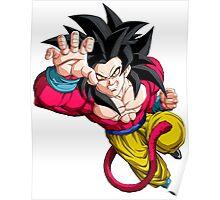 Goku as Super Saiyan 4 - Dragon Ball GT Poster