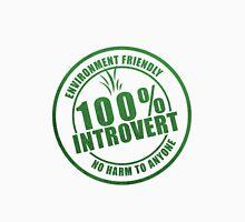 100% Introvert Organic Tee Unisex T-Shirt
