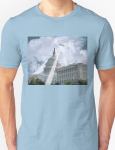UFO Over Capital 2 Unisex T-Shirt
