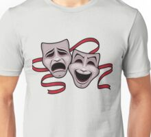 Comedy And Tragedy Theater Masks Unisex T-Shirt