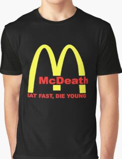 McDeath Graphic T-Shirt