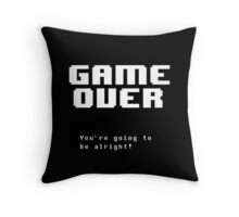 GAME OVER - Undertale Throw Pillow