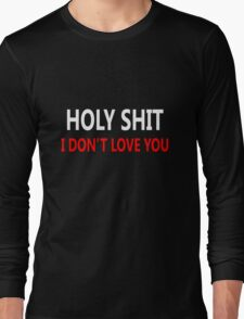Cool love and relationship Expression Long Sleeve T-Shirt