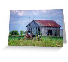 Vintage Farm Find Greeting Card