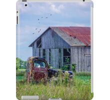 Vintage Farm Find iPad Case/Skin