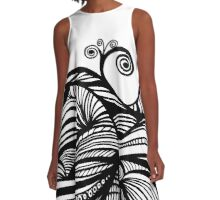 abstract A-Line Dress
