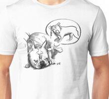 Sleeping Dog - The French Bulldog Unisex T-Shirt