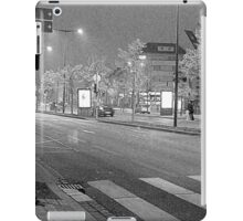 the light is low in town iPad Case/Skin
