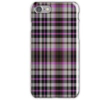 02385 Shelby County, Tennessee Fashion Tartan  iPhone Case/Skin