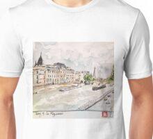 Paris Seine River Unisex T-Shirt