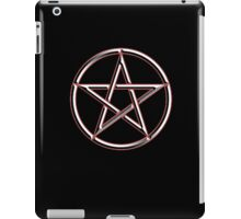 WICCA, Witch, Wizard, Pentacle, modern Pagan, Witchcraft, religion. on BLACK iPad Case/Skin
