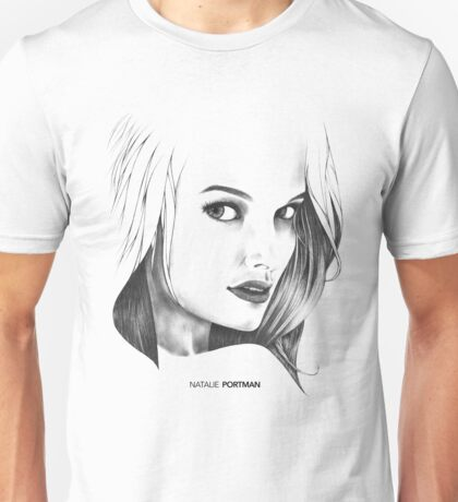 Natalie Portman Illustration Unisex T-Shirt