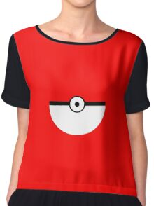 Pokemon Smooth Pokeball Chiffon Top