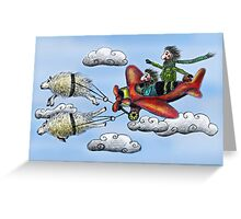 Sky Journey Greeting Card