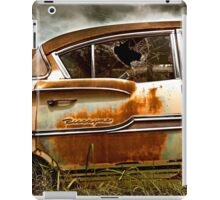 Abandoned 1958 Chevy Biscayne iPad Case/Skin