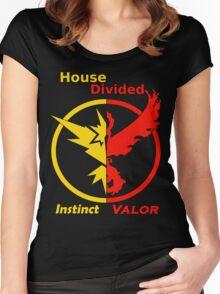 House Divided Instinct vs. Valor Women's Fitted Scoop T-Shirt
