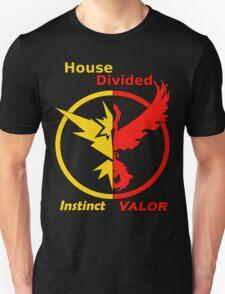 House Divided Instinct vs. Valor Unisex T-Shirt