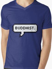 Buddhist Mens V-Neck T-Shirt