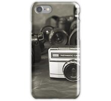 Camera's- from past to present iPhone Case/Skin