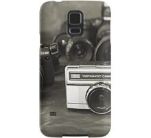 Camera's- from past to present Samsung Galaxy Case/Skin