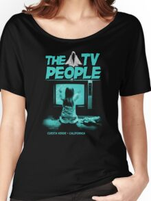 The TV People Women's Relaxed Fit T-Shirt