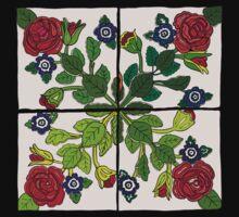 Portuguese Tiles Kids Tee
