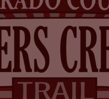 Byers Creek Colorado offroad Jeep trail Sticker