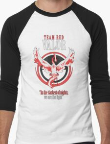 Team Valor Pokèmon GO! Men's Baseball ¾ T-Shirt