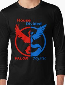 House Divided Valor vs. Mystic Long Sleeve T-Shirt
