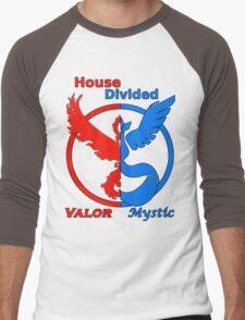House Divided Valor vs. Mystic Men's Baseball ¾ T-Shirt