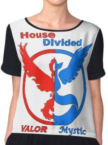 House Divided Valor vs. Mystic Chiffon Top