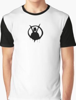 V for Vendetta - We Are Anonymous Graphic T-Shirt