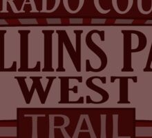 Rollins Pass West Colorado offroad Jeep trail Sticker