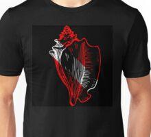 Conch Dive Flag Unisex T-Shirt