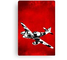 Messerschmitt Me 262 Jet Fighter from WW2 Canvas Print