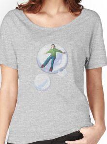 Flying Owen Bubble Women's Relaxed Fit T-Shirt