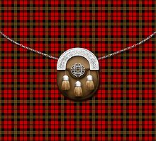 Clan Brodie Red Tartan And Sporran by thecelticflame