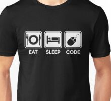 Programmer Eat Sleep Code Unisex T-Shirt