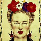 Frida Kahlo by Elisabete Nascimento