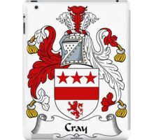 Cray Coat of Arms / Cray Family Crest iPad Case/Skin