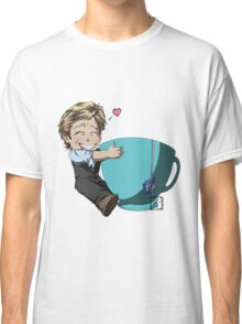 Patrick Jane and his cup of Tea Classic T-Shirt