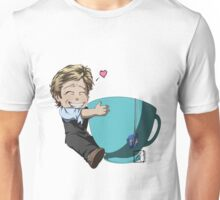 Patrick Jane and his cup of Tea Unisex T-Shirt