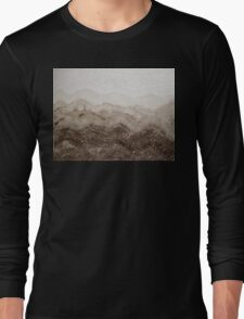 Desert Mountain Mist original painting Long Sleeve T-Shirt
