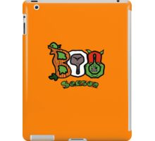 Boo Season (On Black) iPad Case/Skin