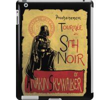 Tournee du Sith Noir iPad Case/Skin