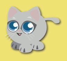 Anime Kitty Baby Tee