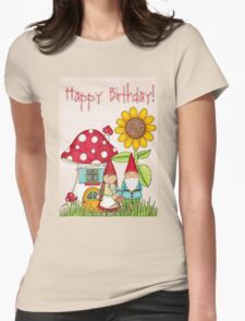 HAppY BIrthDAY h1 Womens Fitted T-Shirt