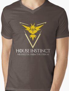 House Instinct v2 (GOT + Pokemon GO) Mens V-Neck T-Shirt