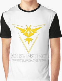 House Instinct v2 (GOT + Pokemon GO) Graphic T-Shirt